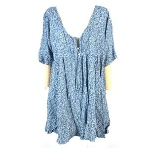 Denim & Supply floral tunic top